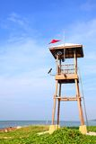 Beach life guard tower Royalty Free Stock Image