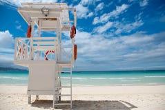 Beach Life-saving Hillock Stock Images