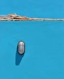 Beach light on blue Royalty Free Stock Image