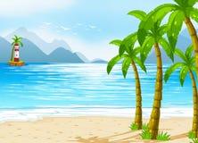 A beach Royalty Free Stock Photos