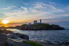 Beach lighthouse Royalty Free Stock Photography