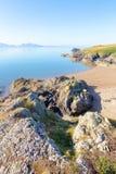 Beach on Llanddwyn Island, Anglesey Royalty Free Stock Photo