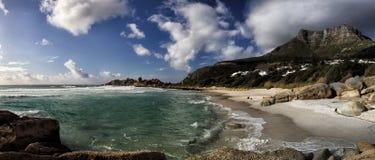 Beach of Llandudno, Cape Town Stock Photography