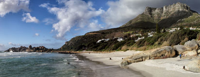 Beach of Llandudno, Cape Town Stock Photos