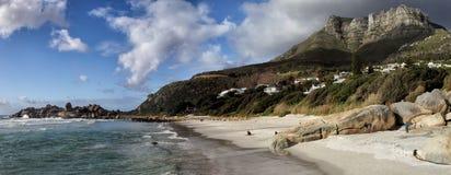 Beach of Llandudno, Cape Town Stock Photos