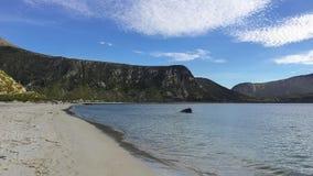 Beach in Scandinavia. A beach on Lofoten in Norway, Scandinavia Royalty Free Stock Image