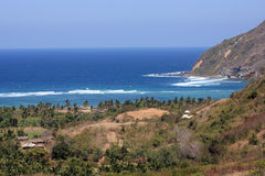 Beach on  Lombok  island. Stock Images