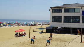 Beach at Long Branch in New Jersey Stock Photos