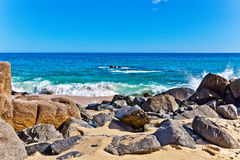 Beach in Los Cabos, Mexico Stock Image
