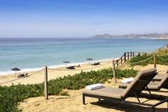 Beach in Los Cabos, Mexico Royalty Free Stock Photos