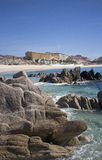 Beach of los cabos mexico Stock Images