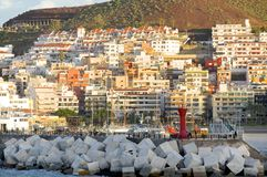 Harbor of Los Cristianos Royalty Free Stock Images