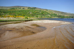 Beach at Lough Caragh Stock Images