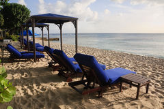 Beach Lounge Stock Photography