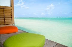 Beach Lounge Stock Photography