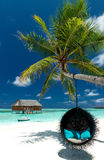 Beach Lounge royalty free stock photography