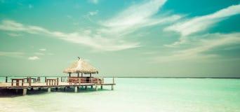Beach Lounge royalty free stock photos