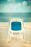 Beach Lounge Ocean Stock Photography
