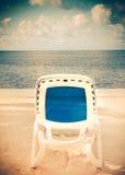Beach Lounge Ocean Royalty Free Stock Photo