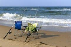 Beach Lounging Royalty Free Stock Photos