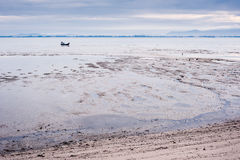 Beach on low tide Stock Photography