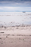 Beach on low tide Stock Images