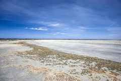 Beach at low tide Royalty Free Stock Photography