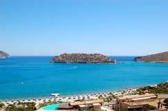 Beach of luxury hotel Stock Images