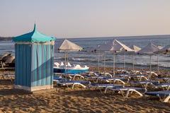 Beach of a luxury resort Royalty Free Stock Image