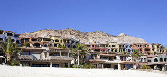 Beach luxury village Royalty Free Stock Images