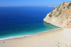 Beach in Lycia. Stock Image
