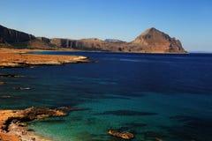 Beach at Macari, Sicily, Italy Royalty Free Stock Images