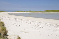 Beach at Machair Leathann Royalty Free Stock Image