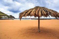 Beach of Machico Royalty Free Stock Photos