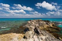 On the beach. The main beach in Cancun - Mexico Royalty Free Stock Photos