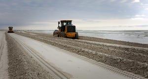 Beach Maintenance. Royalty Free Stock Photo