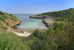 Beach in Majorca Royalty Free Stock Images