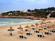 Beach in Majorca royalty free stock photo