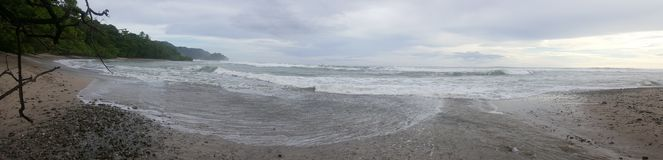 Beach `Mal país`. Beach `Mal país`nUna bella perspectiva Royalty Free Stock Photography