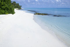 Beach in maldives Stock Photo