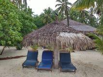Beach. On the Maldives Royalty Free Stock Image