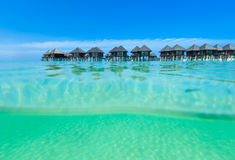 Beach with  Maldives Royalty Free Stock Photography