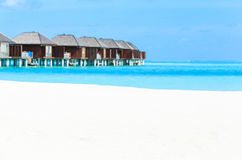 Beach with Maldives Stock Images