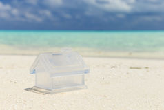 Beach with  Maldives Royalty Free Stock Images