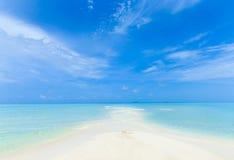 Beach with  Maldives Stock Photos