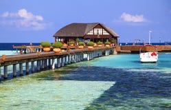Beach Maldives tropical Stock Photography
