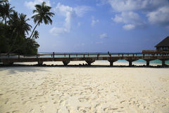 Beach Maldives tropical Royalty Free Stock Photo