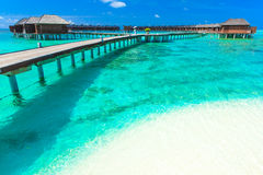 Beach with Maldives Royalty Free Stock Image