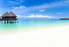 Beach Maldives Royalty Free Stock Images