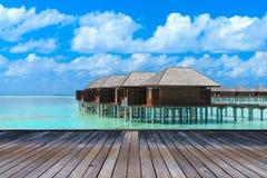 Beach with Maldives Royalty Free Stock Photo